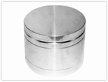 3 pc Anodized Aluminum Grinder 55mm
