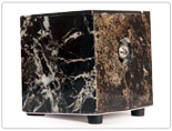 Black Zebra Marble Hot Box Vaporizer
