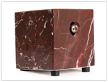 Red Zebra Marble Hot Box Vaporizer